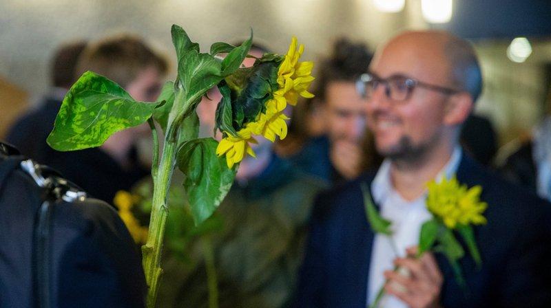 Elections fédérales: d'où viennent les tournesols arborés par les Verts?