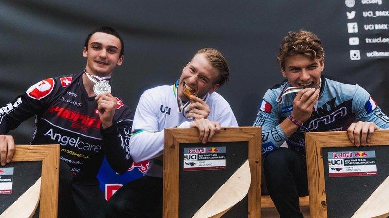 Pépite du BMX, cet Echichanais devient vice-champion du monde
