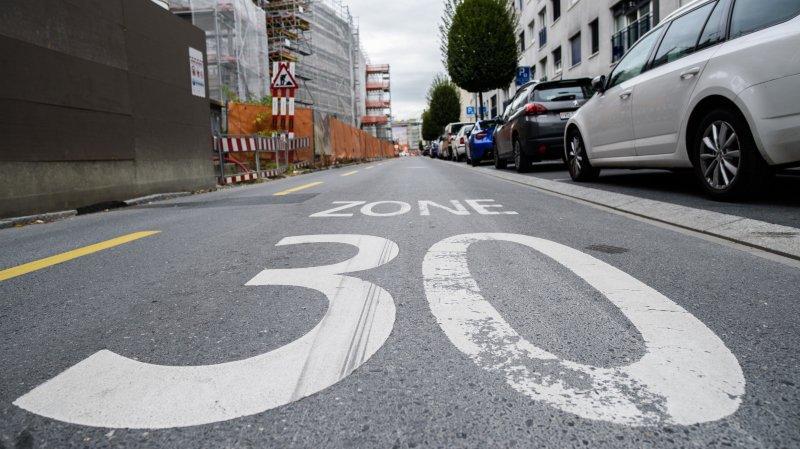 Morges: automobiliste amendé dans une zone 30 non valide