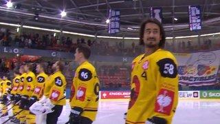 Hockey: à Grenoble, les joueurs du CP Berne ont eu droit à l'hymne...suédois