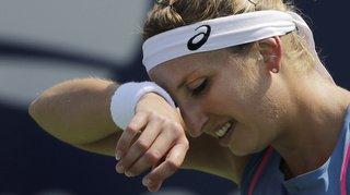 Tennis: Timea Bacsinszky met un terme à sa saison