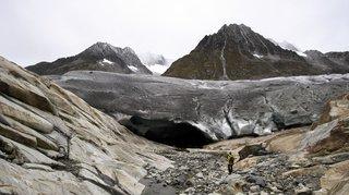 Climat: les glaciers suisses ont diminué de 10% en cinq ans, un record en cent ans