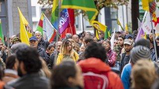 Syrie: manifestations pro-kurdes à Genève, Berne et Lucerne