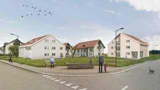 Le quartier du Viez accueillera enfin 14 nouveaux appartements et une salle des fêtes
