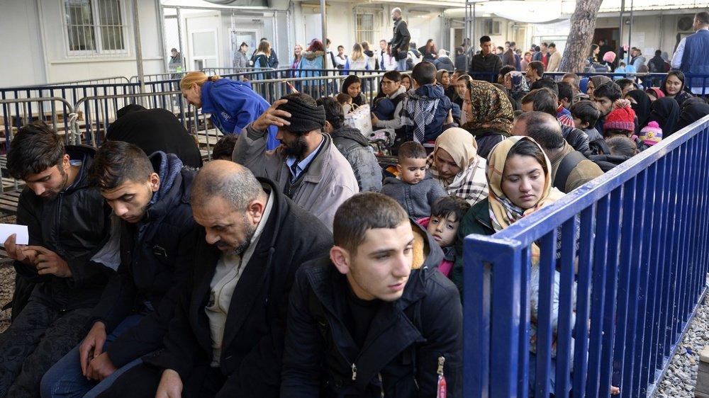 Le nombre de réfugiés a particulièrement augmenté en Grèce depuis le début de l'année. Ils sont près de 500 à débarquer quotidiennement. (illustration)
