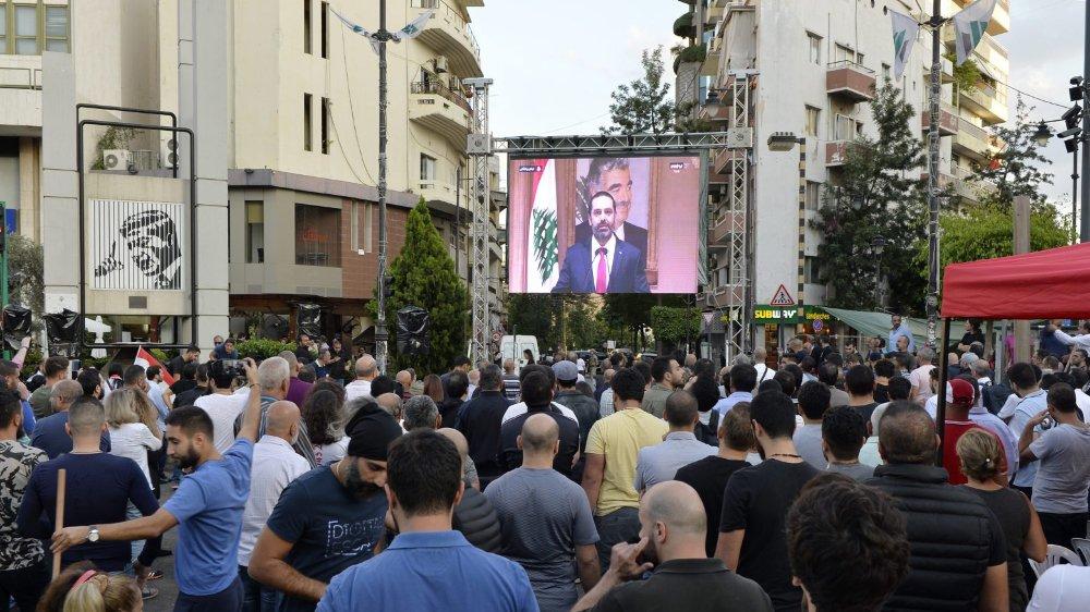 Sous la pression de la rue, le premier ministre libanais Saad Hariri a annoncé sa démission.