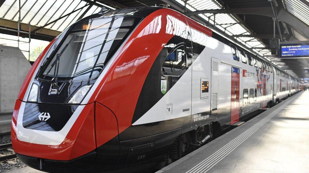 Les trains livrés  d'ici l'été 2021