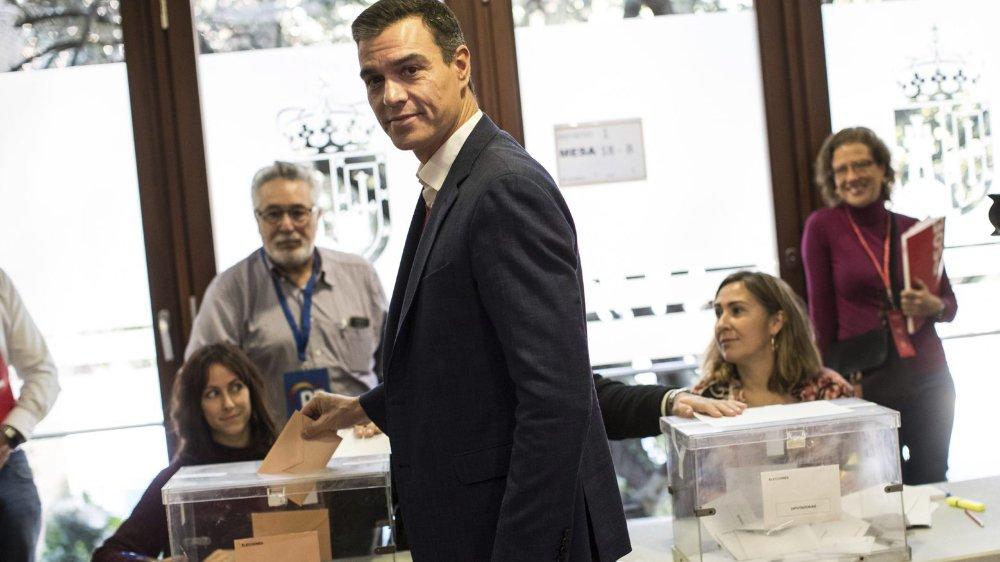 Le Parti socialiste de Pedro Sanchez arriverait en tête après ces élections. Mais former un gouvernement sera compliqué...