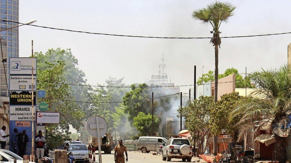 Même les villes du Burkina Faso (ici Ouagadougou) n'échappent plus aux velléités des djihadistes.