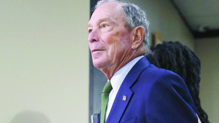 Le milliardaire et ex-maire de New York, Michael Bloomberg, est candidat démocrate à la présidentielle américaine.