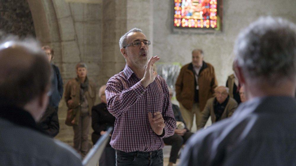 L'organiste Daniel Meylan, titulaire à Nyon depuis 1988, sort un disque de noëls français baroques.