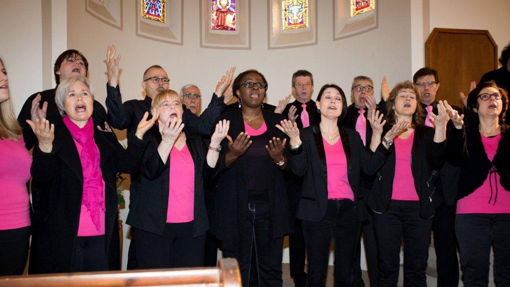 """La chorale """"Accroch'choeur"""" , basée à Gland, est spécialisée dans le gospel."""