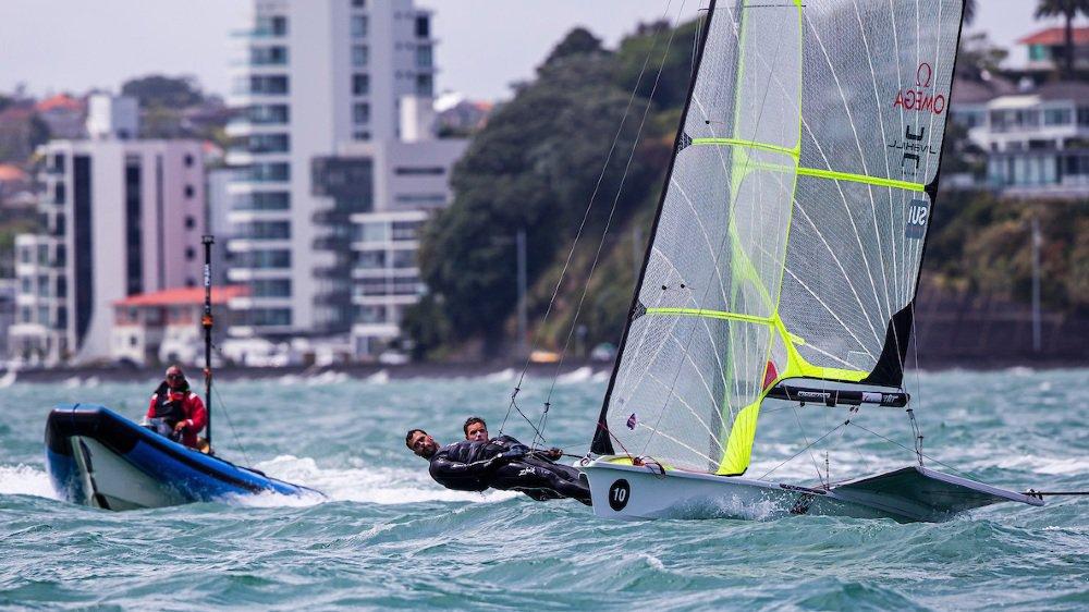 Le duo Cujean/Schneiter a pris ses quartiers à Auckland depuis le 18 octobre.