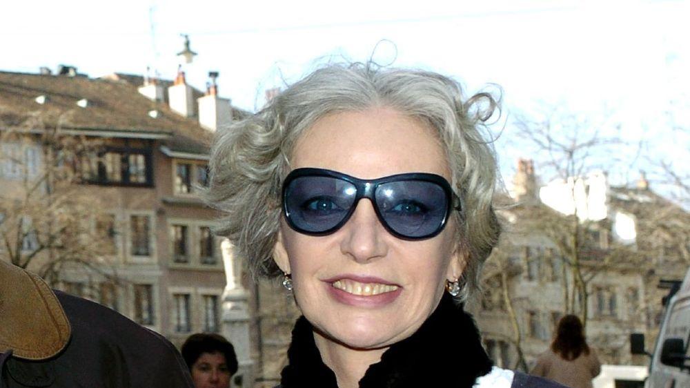 Marie Laforêt photographiée en 2004 à Genève. La chanteuse, comédienne et écrivain franco-suisse a vécu de 2012 à 2017 au Coeur de la Côte, sur les hauts de Mont-sur-Rolle.