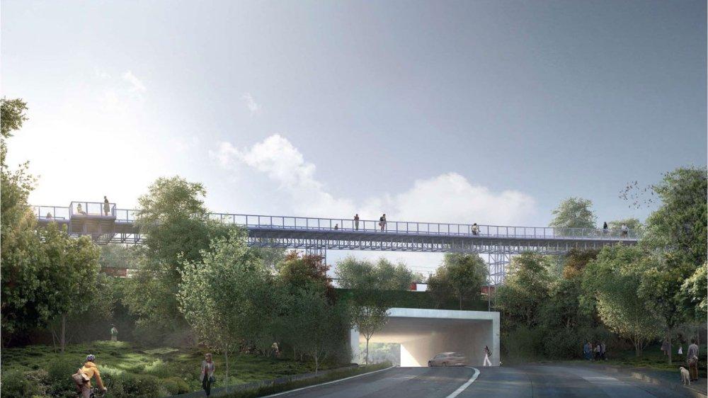 Financée 50% par Nyon et 50% par Prangins, le projet de passerelle reliant les deux communes illustre la promotion de la mobilité douce.