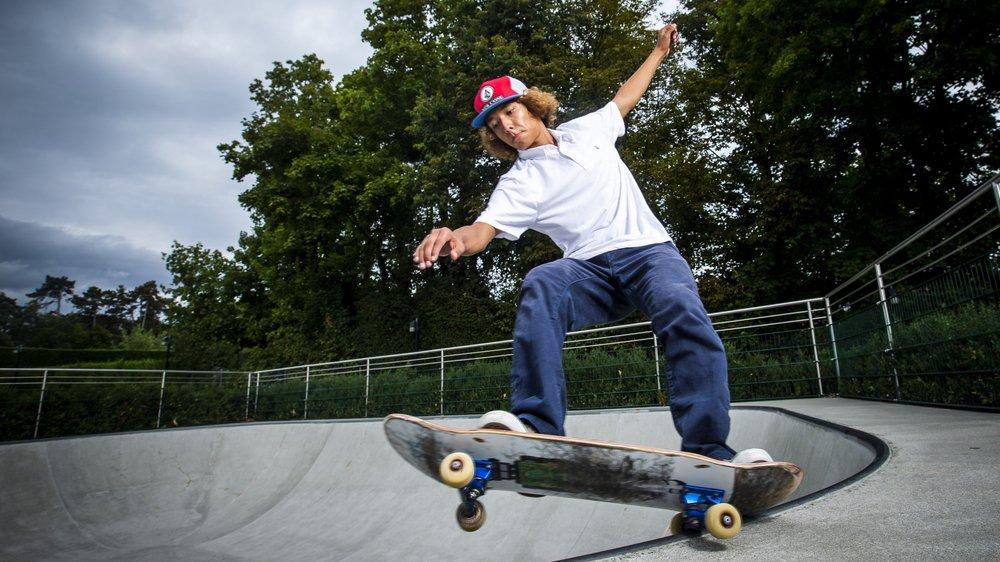 """""""Boosté"""" par son aventure brésilienne, le skater de Vufflens-le-Château envisage 2020 avec confiance."""
