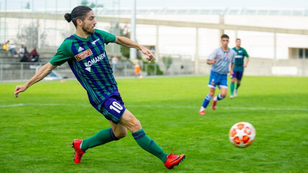 Alessandro Albii a manqué de peu l'ouverture du score à la 5e minute.