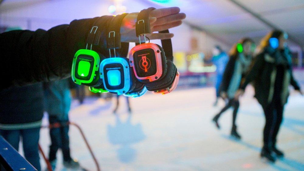 Samedi, la patinoire de Gland se transformera en dancefloor à l'occasion d'une Silent party qui mettra toutes les générations d'accord. A vos marques, prêts, patinez!