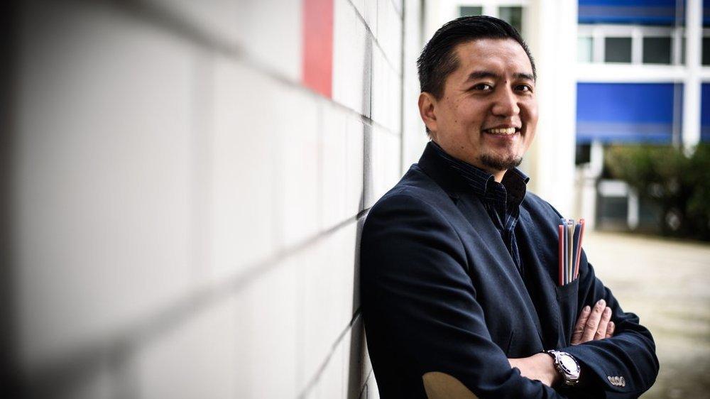 Le Nyonnais Nhat Vuong utilise ses compétences en marketing pour aider son prochain.