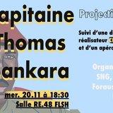Projection du Doc. «Capitaine Thomas Sankara»