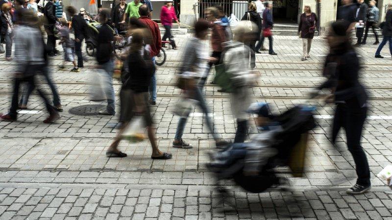 La population de la Suisse a progressé de 0,7% par rapport à 2017 et a passé le cap des 8,5 millions d'habitants en 2018. (illustration)