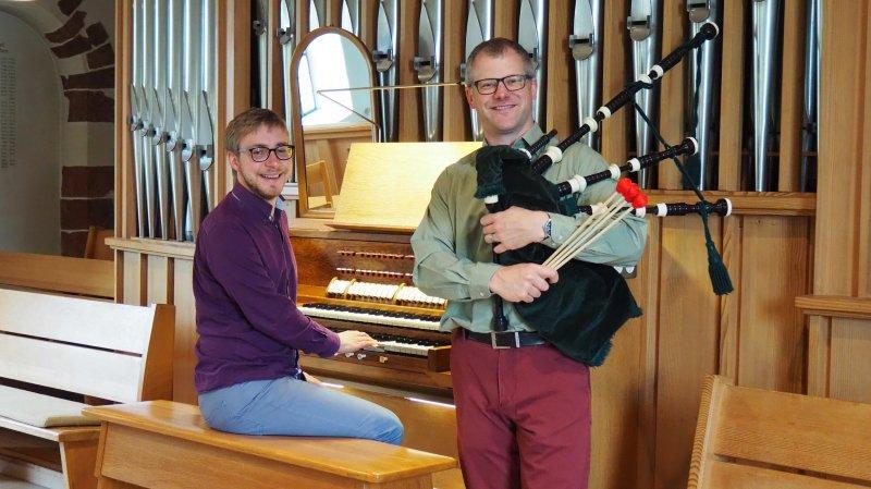 Cornemuse et orgue