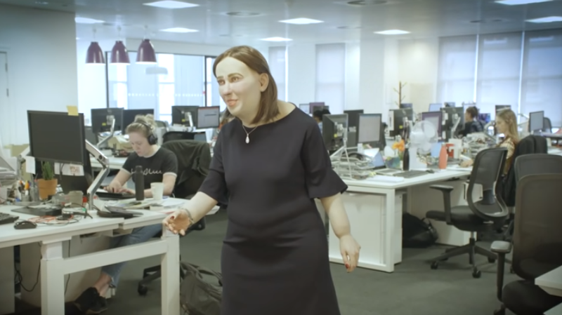 Sédentarité: voici à quoi pourrait ressembler un employé de bureau en 2040