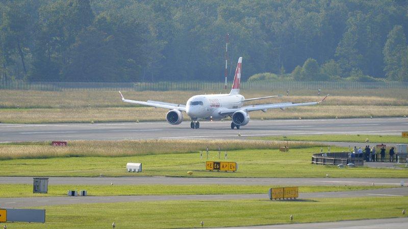 Genève: un A220 de Swiss, en partance pour Palma, contraint de faire demi-tour