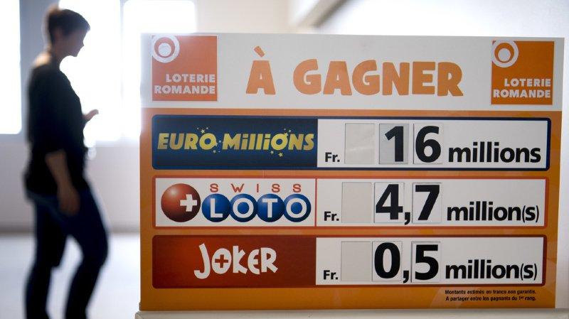 Le prochain jackpot s'élève à 1,5 million. (illustration)
