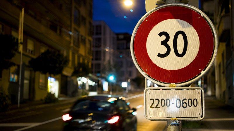 Le 30km/h de nuit, une mesure qui fait grand bruit