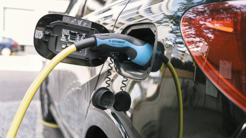 Sur les routes suisses, seules 3% des voitures sont électriques. (illustration)