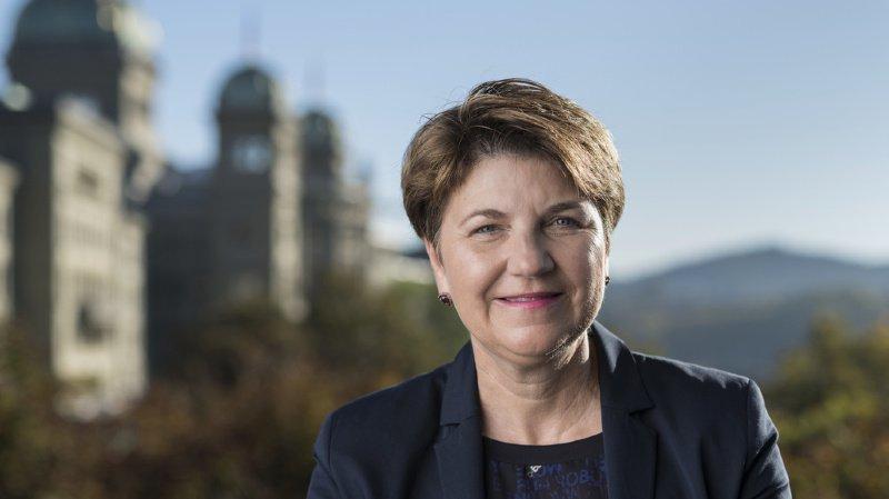 La conseillère fédérale sera présente au Forum de l'économie de La Côte.