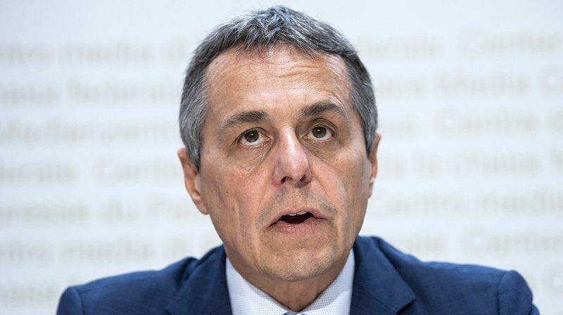 Conseil fédéral: Ignazio Cassis veut rester aux affaires étrangères pendant encore au moins 10 ans