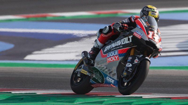 Moto2 – GP d'Australie: Thomas Lüthi décroche la 3e place