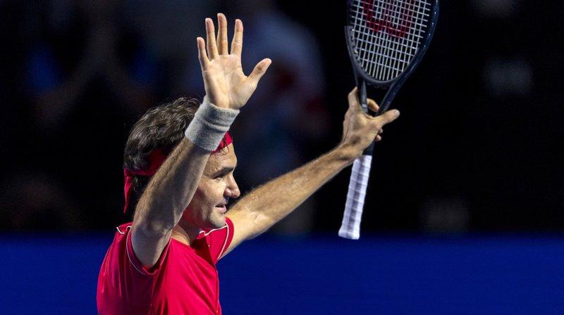 Roger Federer disputera ce dimanche sa quinzième finale aux Swiss Indoors.