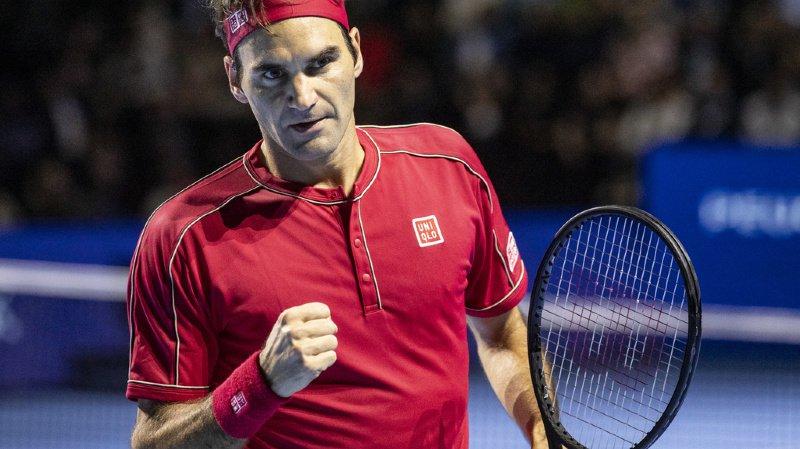Tennis – Masters de Londres: Roger Federer avec Djokovic, Thiem et Berrettini