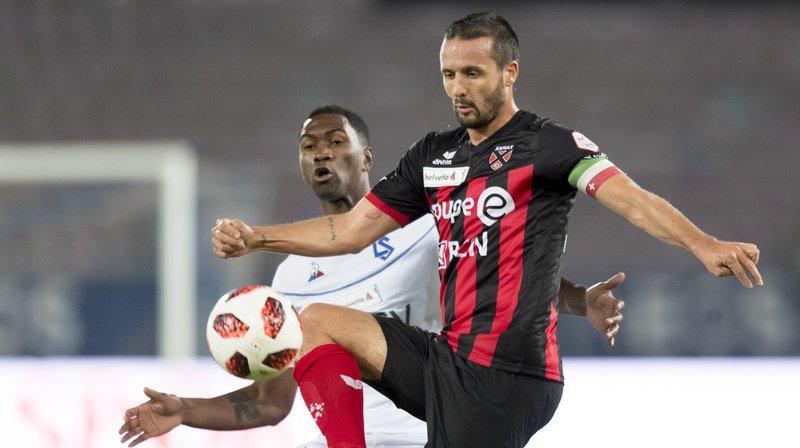 Raphaël Nuzzolo et ses coéquipiers n'ont pas été à la hauteur face au Lausanne-Sport d'Elton Monteiro.