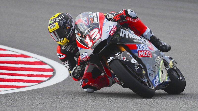 Moto2 - GP de Malaisie: Tom Lüthi partira en deuxième ligne à Sepang, Marquez en pole