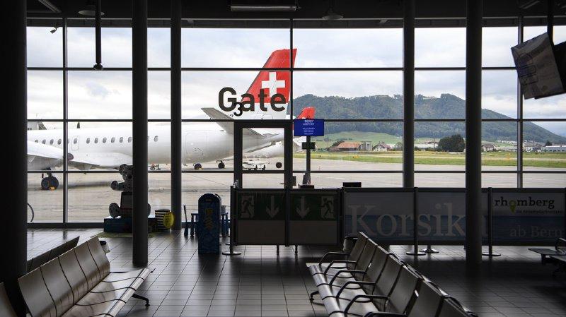 Trafic aérien: l'avenir de l'aéroport de Berne pourrait passer par le financement participatif