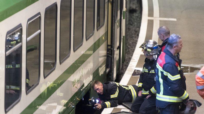 Lausanne: évacuation à la gare du Flon après un dégagement de fumée