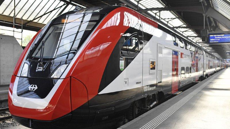 Trafic ferroviaire: les 62 trains Bombardier à deux étages livrés d'ici à l'été 2021
