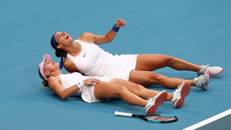 Caroline Garcia et Kristina Mladenovic ont apporté le point de la victoire à la France