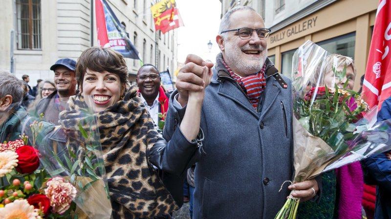 Fédérales 2019 – Genève: la Verte Lisa Mazzone et le socialiste Carlo Sommaruga élus