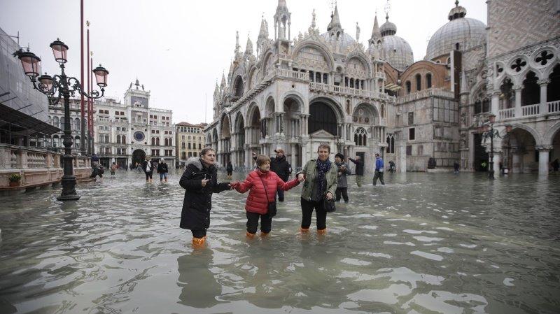 Italie: la marée haute va atteindre 1,50 mètre à Venise