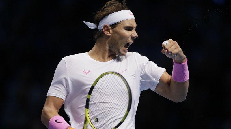 Tennis – Masters de Londres: mené 5-1 dans le 3e set, Rafael Nadal renverse Daniil Medvedev