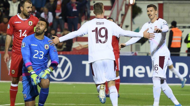 Football – Euro 2020: la Suisse écrase Gibraltar, valide son ticket et termine première de son groupe