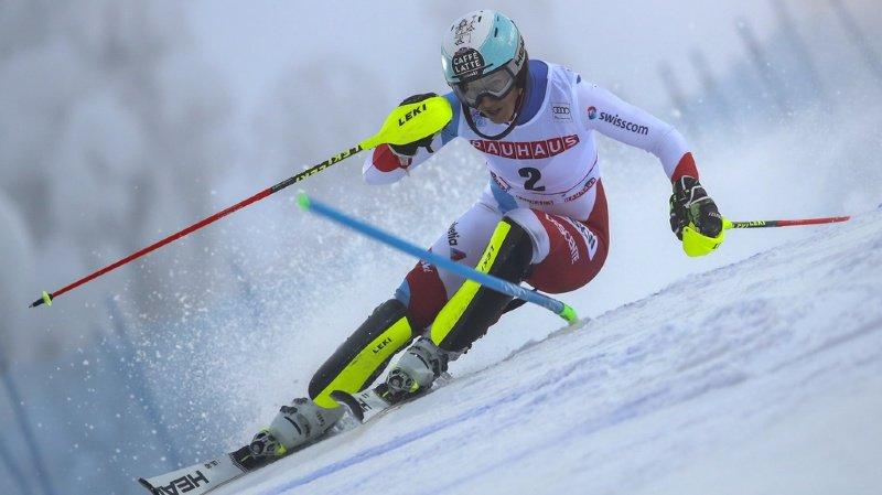 Ski alpin: deux Suissesses dans les 10 après la première manche du slalom de Levi, Vlhova devant