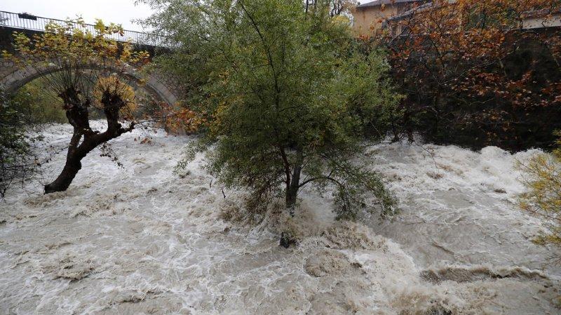 France: fortes inondations sur la Côte d'Azur, deux disparus
