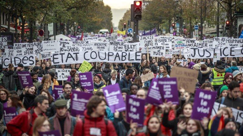 Violences faites aux femmes: manifestations à travers le monde