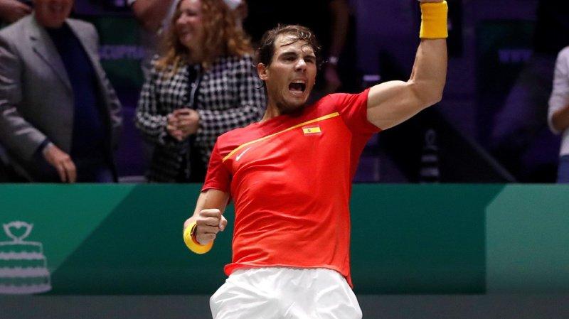 Tennis – Coupe Davis: l'Espagne de Nadal affrontera le Canada en finale